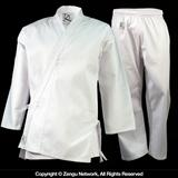 KD Elite 8.5 oz. White Middleweight Karate Uniform